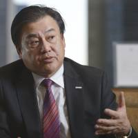 China expansion: Ken Kubo, president of SMBC Consumer Finance Co., is interviewed in Tokyo on Feb. 26. | BLOOMBERG