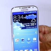 The Samsung Galaxy S 4 | AP