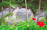 The cave on Chichijima Island was used to store U.S. nuclear weapons in the 1950s and '60s, while nuclear arms were also kept at U.S. bases in Okinawa until its reversion in 1972.
