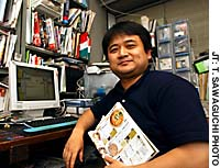 Ramen buff Sho Sasaki says noodles have acquired the status of a national pastime in Japan.