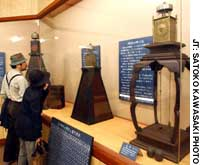 Clock museum shows passage of time