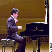 Pianist Takeshi Kakehashi, 25, makes his U.S. debut at Carnegie Hall in New York on Sunday.