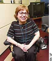 Judith Heumann expresses her determination to help disabled people in her role as adviser for disability and development at the World Bank.