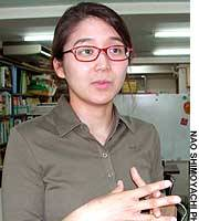 Nurse Miyako Yoshino is back in Tokyo after two weeks of fieldwork in Baghdad.