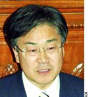 Lower House member Yoji Nagaoka