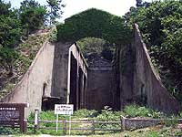 The ruins of a poison gas factory on Okunoshima Island are a reminder of the island's history as a military production site. | PHOTO COURTESY OF MASAYUKI YAMAUCHI