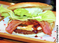The sasebo burger -- originally made to cater to American service members more than 50 years ago -- is enjoying a nationwide comeback.