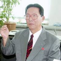 Jong Thae Hwa, once a highly ranked North Korean negotiator in normalization talks with Japan, in Pyongyang. | KYODO PHOTO