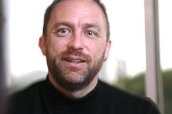 Wikipedia founder searches for info in Japan
