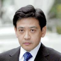 Financier Yoshiaki Murakami stands accused of insider trading in shares of Nippon Broadcasting System Inc. | KYODO PHOTO