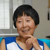 Japan-born running phenom Toshiko D'Elia in form at 77