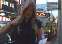 Undercover Welsh TV reporter Sian Morgan is shown posing as a hostess looking for work in Tokyo. | KYODO PHOTO