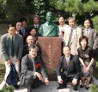 Beijing museum unveils bust of Japanese who inspired Lu Xun