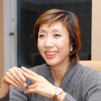 Japanese actress Michi Yamamura, 51, recounts her experience of performing her original two-person play in English at an off-Broadway theater in New York. | KYODO PHOTO