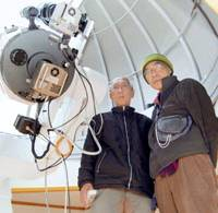 Stargazing seniors lauded for 10 new finds