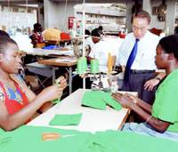 Shirt maker weathers Uganda's ups, downs