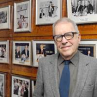 History teacher: Donald Richie is pictured at the Foreign Correspondents' Club of Japan in Tokyo, where he gave an interview in May. | YOSHIAKI MIURA PHOTO