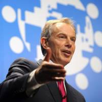 Blair shifts focus on climate to Copenhagen conference