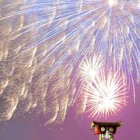 Summer lights: Fireworks explode in the sky over Noto, Ishikawa Prefecture, on July 4. This time of year, it's hard not to find a nearby fireworks display. | KYODO PHOTO