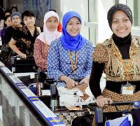 First nurses arrive from Indonesia