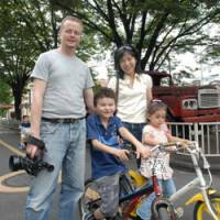 Interpreter's trip to Britain translates into family of four