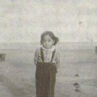 Nowhere to go: Kyoko Norma Nozaki at an internment camp for Japanese- Americans in Tule Lake, Calif., around 1945. | COURTESY OF KYOKO NORMA NOZAKI