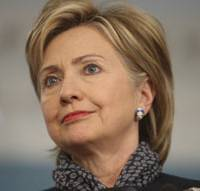 Coming soon: U.S. Secretary of State Hillary Rodham Clinton attends a news conference Thursday at the State Department in Washington. | AP PHOTO