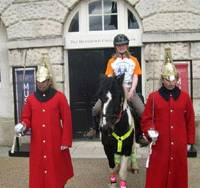 Briton embarks on 3 1/2-year trek by pony from London to Tokyo