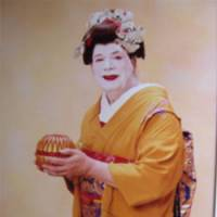 Total makeover: Mary Murdock is photographed dressed as a 'maiko' apprentice geisha at a Kyoto photo studio in April 2007. | KYODO PHOTO