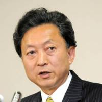 Hatoyama disses LDP but is otherwise vague