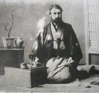 Cultural emersion: Engineer William Burton lived in Japan in the late 1800s. | EDINBURGH NAPIER UNIVERSITY / KYODO