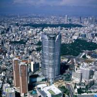 From the sky: A bird's eye view of Roppongi Hills. | MORI BUILDING
