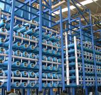 Learning through osmosis: This water desalination plant in southern Spain uses Nitto Denko Corp.'s reverse osmosis membrane filtration technology. | COURTESY OF NITTO DENKO CORP.