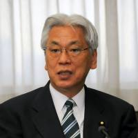Case closed?: New Justice Minister Toshio Ogawa is interviewed Jan. 23 at the ministry.   SATOKO KAWASAKI