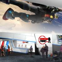 Coming soon: The interior of the Gundam Front Tokyo theme park on the Odaiba waterfront is seen in this artist's conception. | KYODO