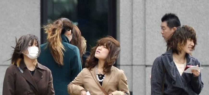 First spring storm of year hits Tokyo, other parts of Japan
