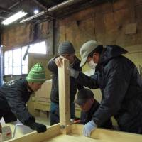 Carpentry seminars help bring men out of isolation