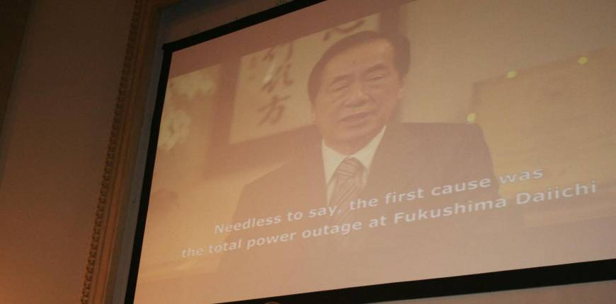 Kan cites 'God's help' in containing nuclear crisis