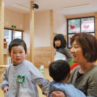 Makeshift nursery in tsunami-hit Kesennuma struggles but fills role