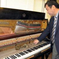 Rare piano to return to Yokohama's Chinatown