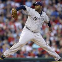 No bailouts needed: CC Sabathia signed a $161 million contract, the largest ever for a pitcher, with the New York Yankees last week. | AP PHOTO