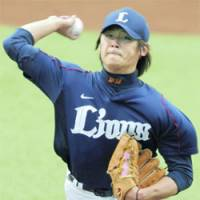 Lionheart: An improved season from ace Hideaki Wakui would put the Seibu Lions in position to make a run at a second straight Japan Series title. | KYODO PHOTOS