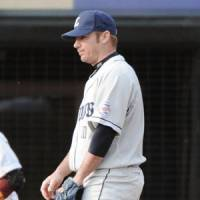 Reliable: Seibu Lions closer Brian Sikorski, who has played for four teams in Japan, has 20 saves this season. | KYODO PHOTO