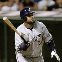New era: Stars such as Prince Fielder of the Milwaukee have helped MLB increase its profile and revenue. | AP PHOTO
