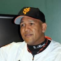 Pitching in: Yomiuri Giants star Alex Ramirez has major plans to help assist in the relief effort for the Tohoku earthquake and tsunami. | SATOKO KAWASAKI PHOTO