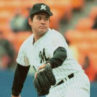Formidable force: Hideki Irabu led the Pacific League twice in strikeouts and earned run average during his career with the Chiba Lotte Marines.