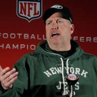 Talking the talk: Jets head coach Rex Ryan answers questions from the media during a news conference on Wednesday in Florham Park, N.J. | AP PHOTO