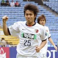 Into the breach: Yasushi Endo has ensured Kashima Antlers' injury problems have not affected results.   KYODO PHOTO