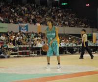 Rising star: Takamatsu Five Arrows shooting guard Yu Okada is one of the bj-league's top pure shooters. He is consistently one of the league leaders in 3-point shooting and is near the top of the charts in assists and free-throw shooting this season as well. | TAKAMATSU FIVE ARROWS