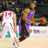 Nice addition: Julius Ashby has had a significant impact since joining the Tokyo Apache. | YOSHIAKI MIURA PHOTO